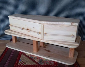 Pine coffin   Etsy