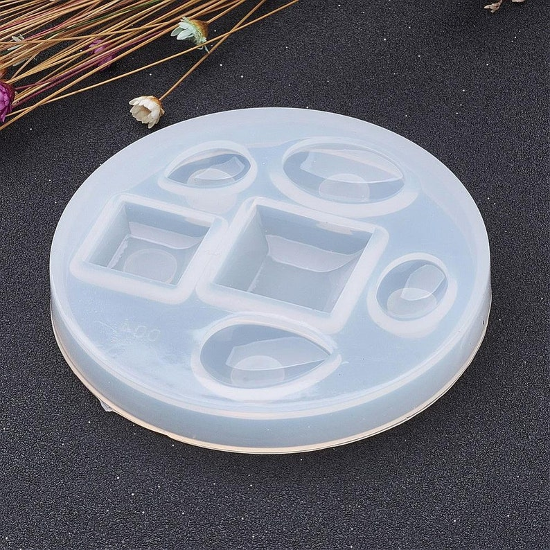 -Mixed set #03 resin mold, resin UV Silicone Mold for resin