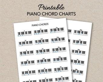 Ukulele Chord Charts Printable PDF Format Letter Size Print