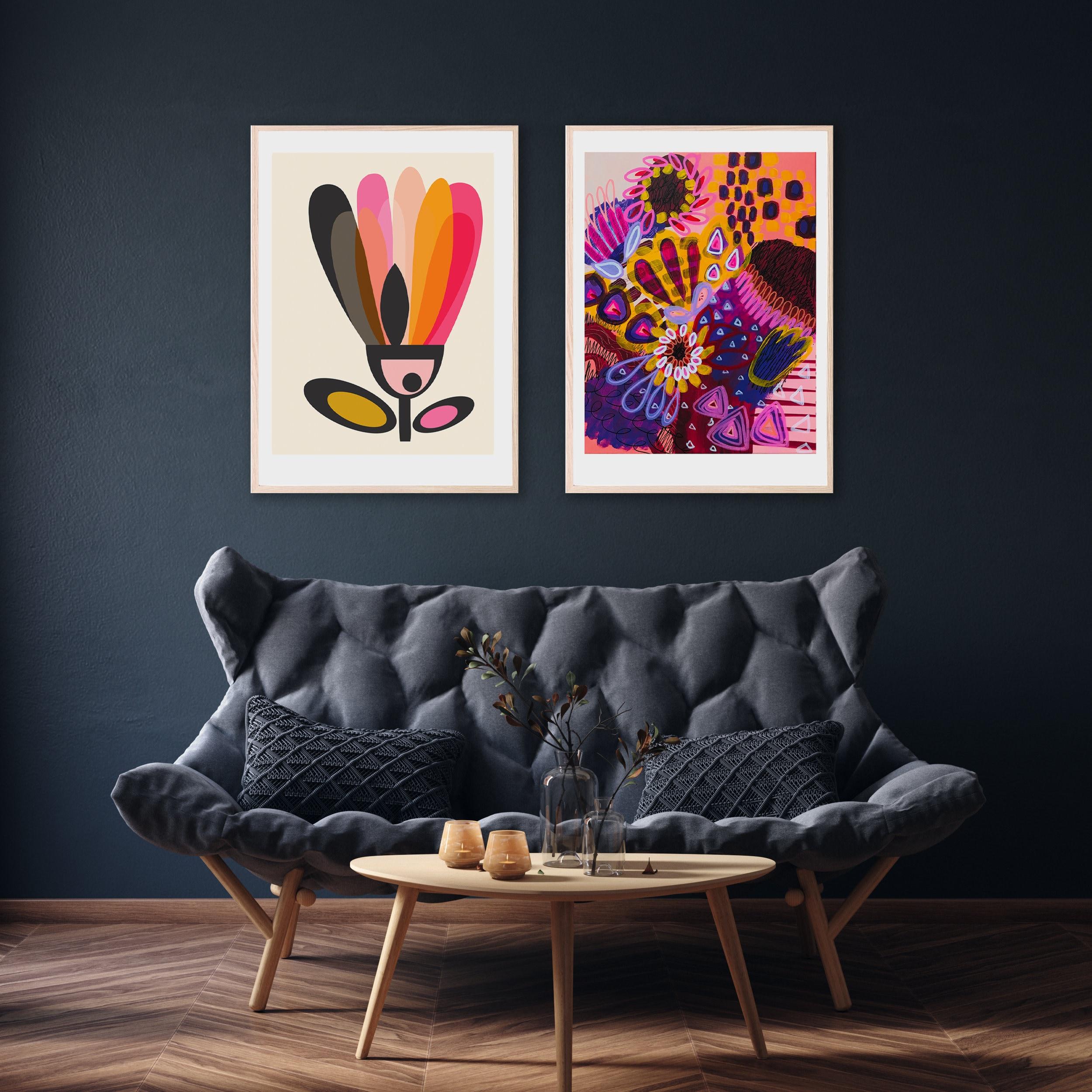 Modern Wall Art Prints, Abstract Art, Mid Century Modern Wall Decor, Giclee  Prints, Original Art, Gallery Wall Art Set, Kirsten Katz