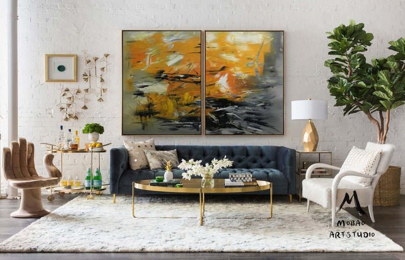 Large Abstract Painting Large Wall Painting On Canvas Original Landscape Canvas Painting Original Abstract Art Painting Living Room Art