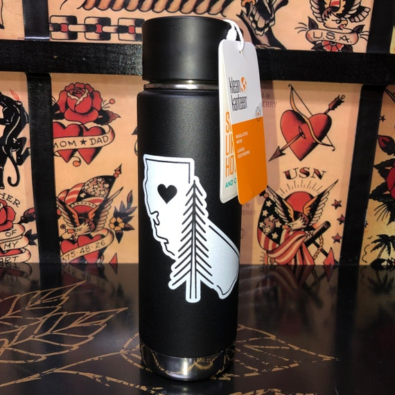 Paradise Strong Klean Kanteen 20 Oz Camp Fire Tribute Etsy