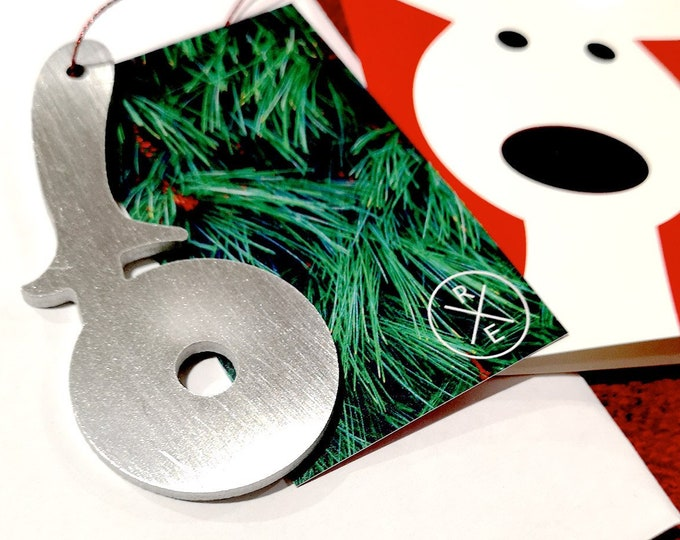 Featured listing image: Pizza Cutter Christmas Ornament - Unique Christmas Ornament