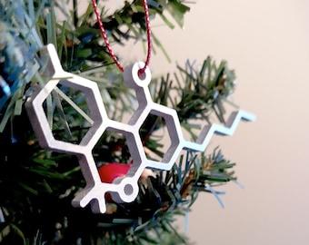 THC Molecule Christmas Ornament – Unique Christmas Ornament