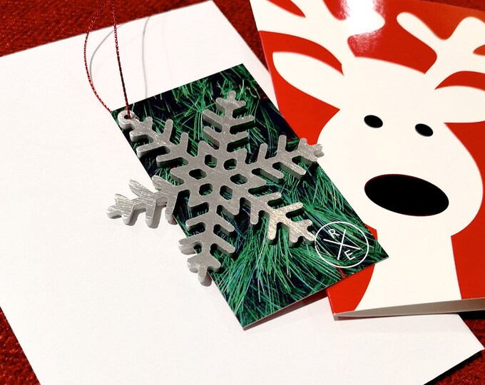 Featured listing image: Snowflake Christmas Ornament – Unique Christmas Ornament