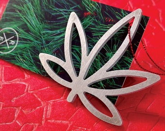 Weed Christmas Ornament – Unique Christmas Ornament