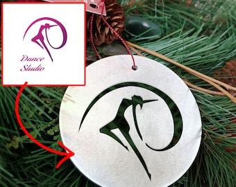 Custom Metal Christmas Ornaments – Custom Business Christmas Ornaments (10+)