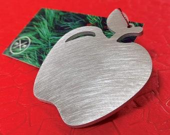 Apple / Teacher Christmas Ornament - Unique Christmas Ornament
