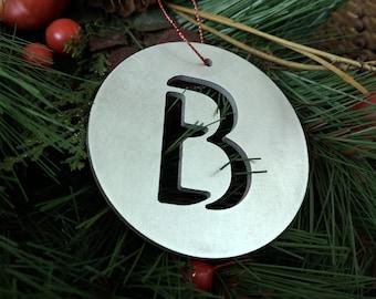 """Letter """"B"""" Christmas Ornament – Unique Christmas Ornament"""