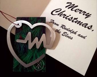 Heart Christmas Ornament – Unique Christmas Ornament
