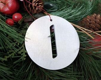 "Letter ""I"" Christmas Ornament – Unique Christmas Ornament"