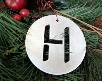 """Letter """"H"""" Christmas Ornament – Unique Christmas Ornament"""