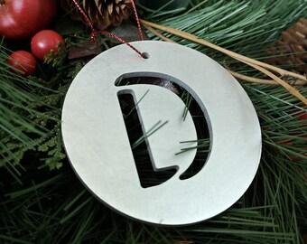 """Letter """"D"""" Christmas Ornament – Unique Christmas Ornament"""
