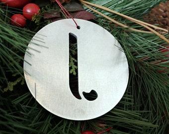 """Letter """"J"""" Christmas Ornament – Unique Christmas Ornament"""
