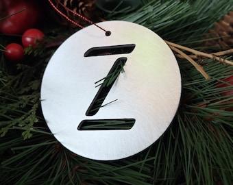 """Letter """"Z"""" Christmas Ornament – Unique Christmas Ornament"""