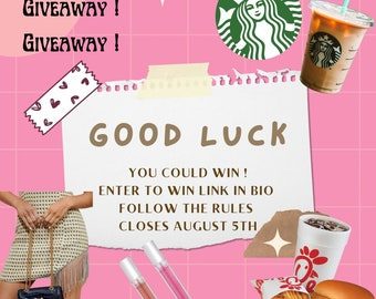 Enter and WIN