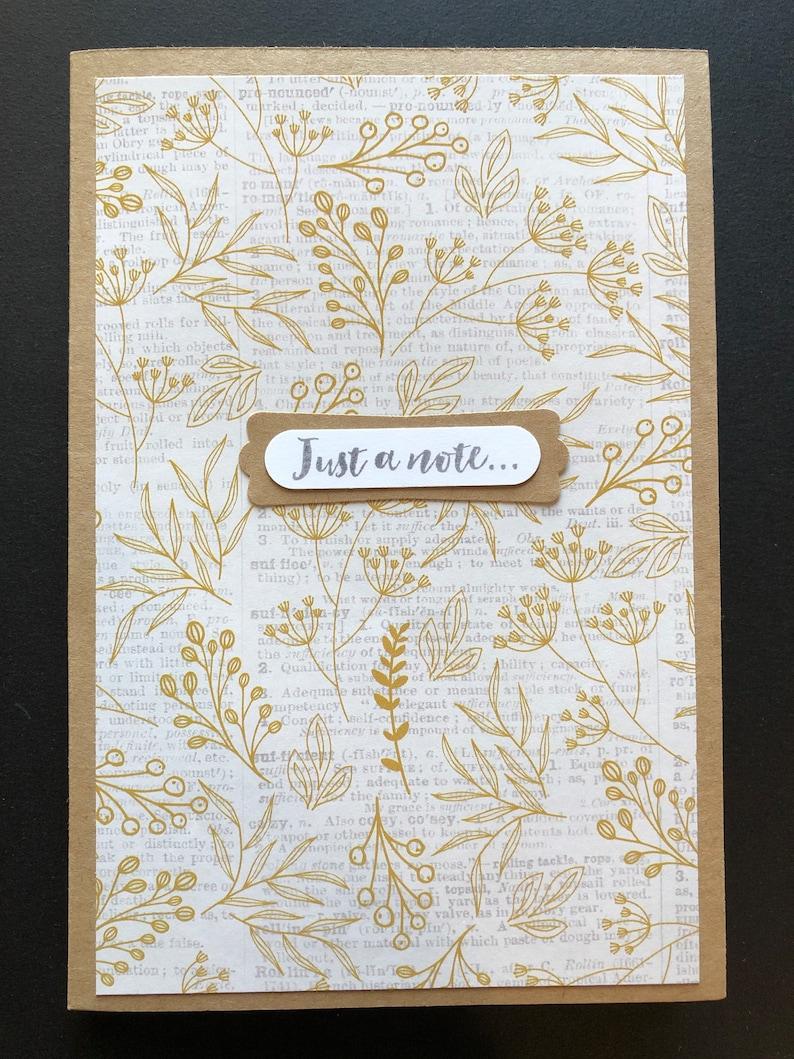 Just a Note 4\u201dX6\u201d Decorative Notepads