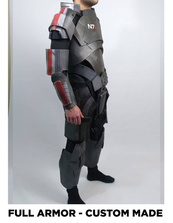 Full N7 Armor Male Or Female Commander Shepard Cosplay Eva Foam Lightweight Cosplay Armor