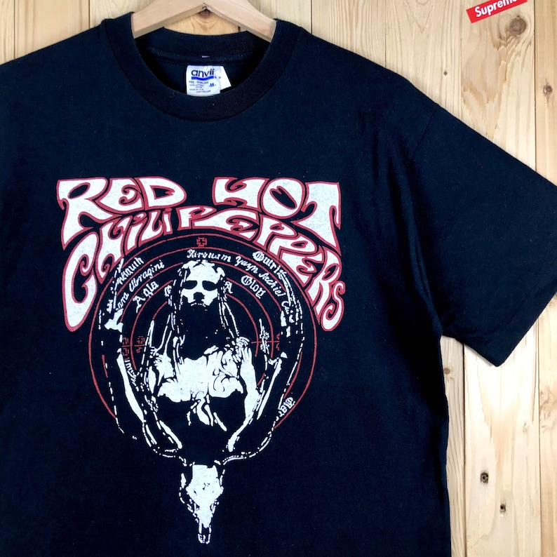 90s deadstock red hot chili papers walk about tour shirt
