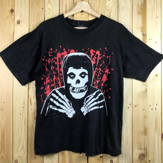 Vintage 90s misfits band tour shirt tour