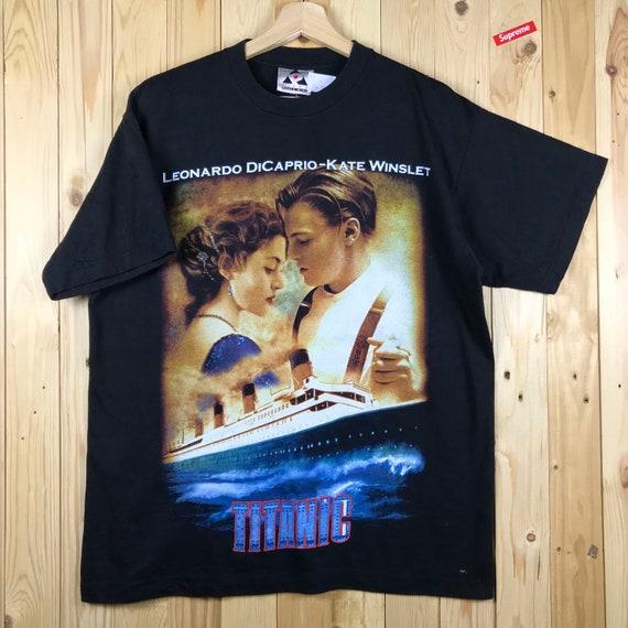 Vintage 90s titanic movie / leonardo dicaprio and