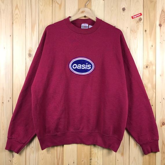 Vintage oasis cancelled tour us sweatshirt size xl