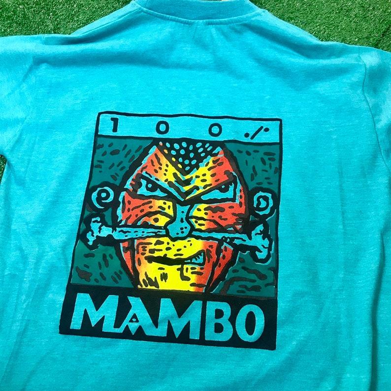 Vtg 90s mambo biglogo spellout shirt nice design  made in australia