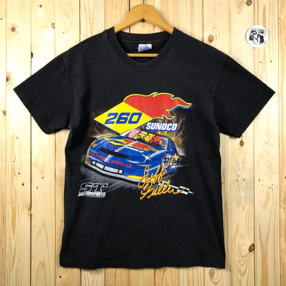 Vintage 90s nascar sunoco racing jeff fuller / 90s