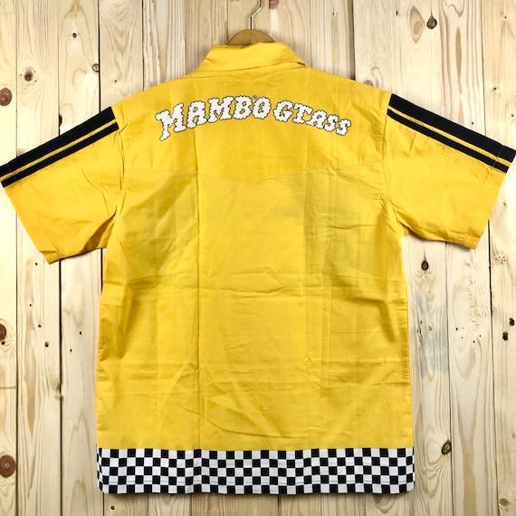 90s mambo beachnik spiritual biglogo spellout   mambo australia shirt