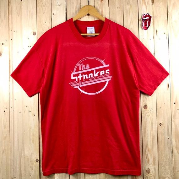 Vintage the stroke band shirt promo album / julian