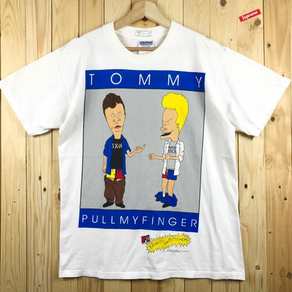90s mtv beavis and butthead tommy pullmyfinger tom