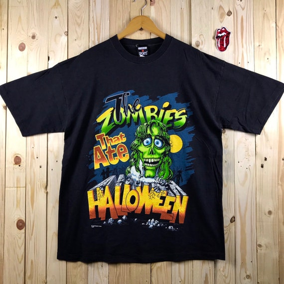Vintage 90s the zombie halloween fashion victim sh