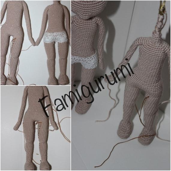 Crochet Doll Base Pattern -Amigurumi Doll Base, Instant download ... | 570x570