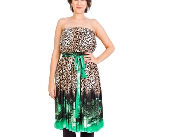 Leopard print dress  5b8ecd1e4