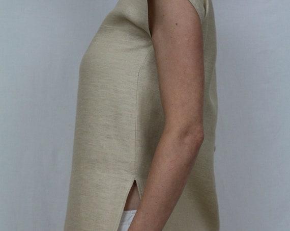 Linen tunic  / Linen top