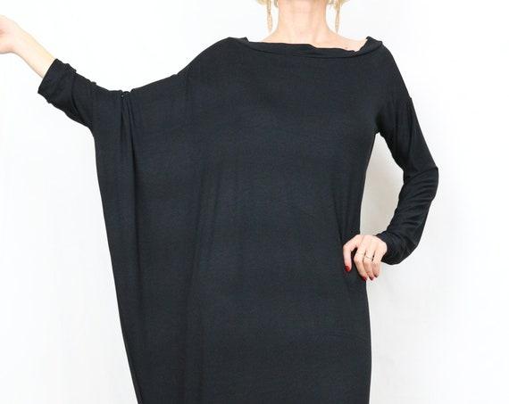Black maxi dress/ Kaftan