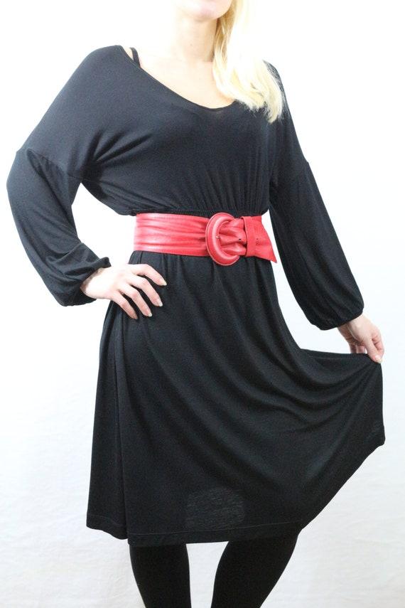 Womens dress/ Summer dress/ Knee length dress/ Kaftan/ Kaftan dress / Dresses / Jersey dress / Black dress / Midi dress / Loose dress