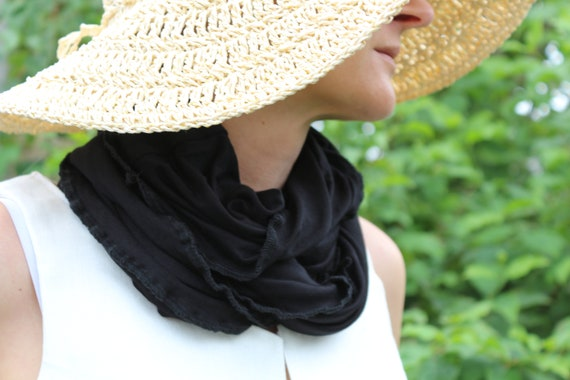 Infinity scarf / Summer scarf / Womens scarf