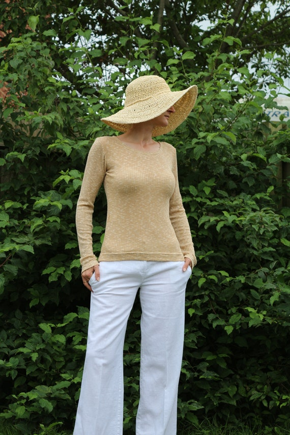 Long sleeve top/ Womens top / Casual top / Womens sweater / Womens blouse