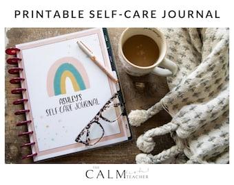 Self-Care Journal, Self-Care Workbook, Self-Love Journal, Self-Love Guide, Personal Growth, Mindfulness, Mental Health, Wellness,
