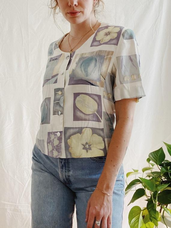 Vintage boxy blouse