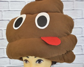 Poop Hat Bullshit Funny Party For Adults Festival Fantasy HeadpieceChristmas KidsCostume HatParty Birthday