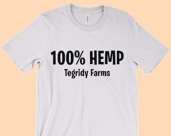 6e53cf04 100% HEMP TEGRIDY FARMS - T-Shirt in many color options - adult mens/unisex  shirts - South Park Pot Farm