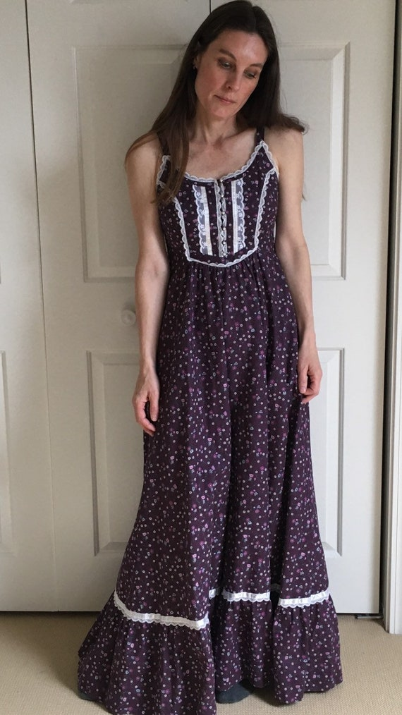 Gunne Sax Sundress/Cottage/ Boho/70s vintage dress