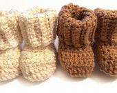 Klover Kicks Crochet Baby Booties