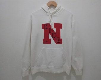 40dfecb1 Vintage Rare Nike big log n hoodie size medium