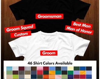 f294400e9 BACHELOR PARTY SHIRTS, Groomsmen Gifts, Groom Shirts, Best Man Shirts,  Wedding Party Accessories