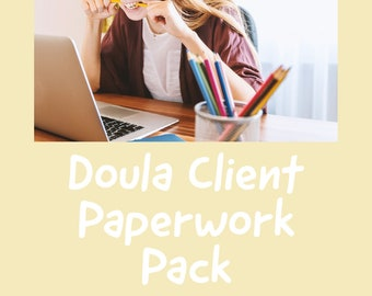 Doula Client Paperwork pack
