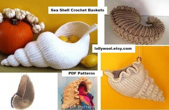 Crochet tutorials 3 beautiful Bracelets Shells