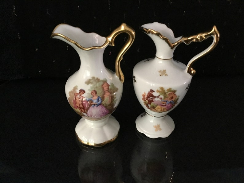 Limoges Antique miniaturen limoges vases